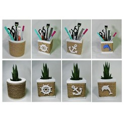 WhatsApp Image 2020-10-01 at 21.07.31.jpeg Download STL file Multible Straw Planters and Straw Pen Holders • 3D print model, gulermdeniz