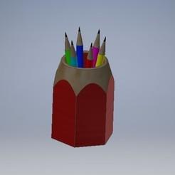 0baa99d2-80cc-4a67-a1a0-f520ae8348ee.jpg Download free STL file Pen Holder • Design to 3D print, gulermdeniz
