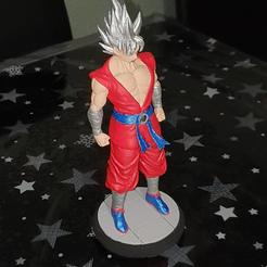 20200924_165124.jpg Download 3MF file Super Saiyan Ultra Instinct Collection • 3D printable design, SAMCER3D