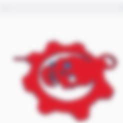 Télécharger fichier STL gratuit Porte-clés Gears of War • Design imprimable en 3D, gerardocaballero500