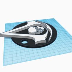 Télécharger plan imprimante 3D Porte-clés Le credo de l'assassin, gerardocaballero500