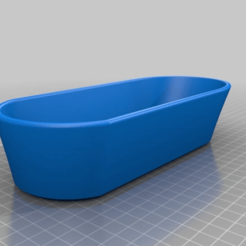 4fc3ab86602ac7ea4cf11ba8691eb4c1.png Download free STL file Barbie-scale Bathtub • 3D printing template, terahurts