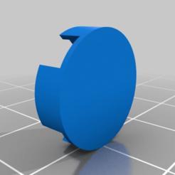 Download free 3D printer templates Saitek X-55 Thumbstick Castle-hat cover, terahurts