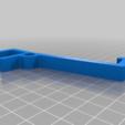 cfa99cf0ca586fc5d58d08e32f8aa293.png Download free STL file Parametric mobile phone shelf clip • Model to 3D print, Terahurts3D