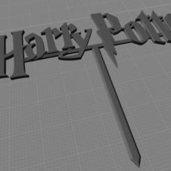 Logo de harry potter pincho imagen.jpg Télécharger fichier STL décoration du logo de harry potter • Design imprimable en 3D, harleyean