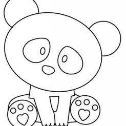 molde-cortante-fondant-torta-set-desmontable-oso-panda-1.jpg Télécharger fichier STL coupe-panda • Objet pour imprimante 3D, harleyean