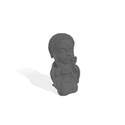BudaFelicidad (grande).png Download free STL file Baby Buddha Happiness • Design to 3D print, Disagns1108