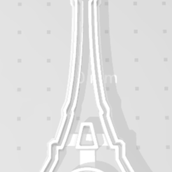 Torre Eifel.png Download free STL file Eiffel Tower Cutter • 3D printer template, Disagns1108