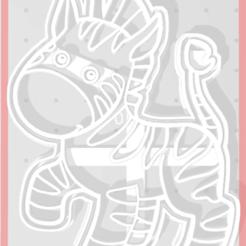 Download STL Zebra Cutter, regipelli