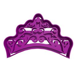 corona de princesa.png Download free STL file Princess Crown Cutter • 3D print object, Disagns1108