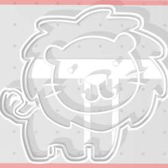 Download STL Lion Cutter, regipelli