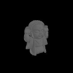 BudaSuerte (grande).png Download free STL file Lucky Baby Buddha • 3D print template, Disagns1108