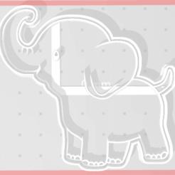 Download 3D printing templates Elephant Cutter, regipelli
