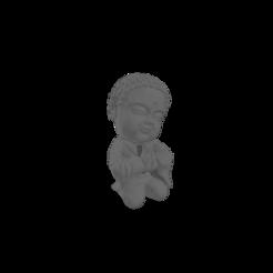 BudaFe (grande).png Download free STL file Baby Buddha Fé • Model to 3D print, Disagns1108