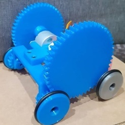 foto 2.jpg Download STL file Scorabott-type robot • 3D printing model, guillermobanyuls