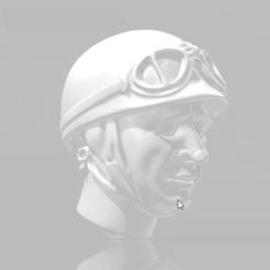 snapshot91.png Download free STL file FANGIO F1 CABEZA CARRERAS JUAN MANUEL FANGIO • 3D printing template, takarashu