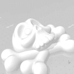 snapshot89.png Download STL file Calabera Skullduggery • 3D printable template, takarashu