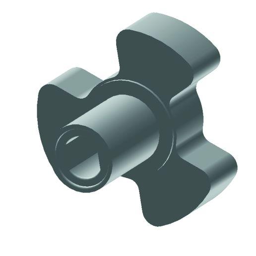 Download free 3D printing models Three-pronged knob, ODIN3d