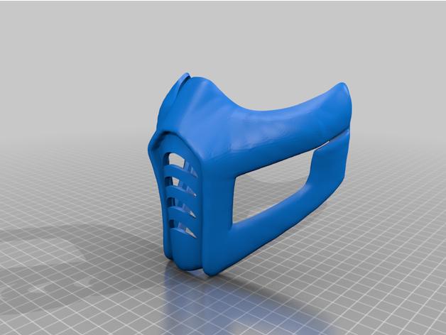 sub-zero-alternate_3mm.png Télécharger fichier STL gratuit Masque sous-zéro • Plan imprimable en 3D, ayoubtouait