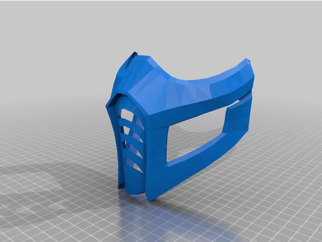 sub-zero-alternate_0mm.png Télécharger fichier STL gratuit Masque sous-zéro • Plan imprimable en 3D, ayoubtouait
