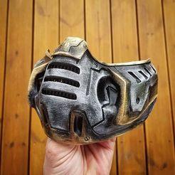 Télécharger plan imprimante 3D gatuit Masque de la mort, ayoubtouait