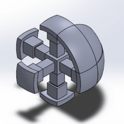 rubikk}.png Download STL file Rubik's Cube Large • 3D printer model, KaldrNibor