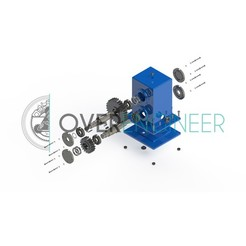 Download 3D printing files Gearbox, overengineer