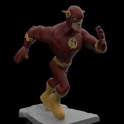 Flash.jpg Download STL file Flash • Template to 3D print, Splunjohnny