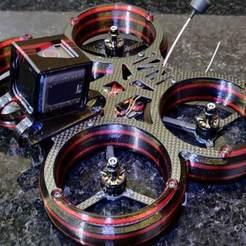 IMG_20200114_001127.jpg Download free STL file Synergy Cinewhoop • 3D print design, Zulan