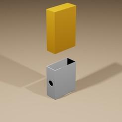 1.jpg Download STL file Cigarette ashtray case • 3D print model, santospatrick1986