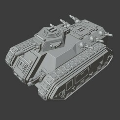 Imperial Guard Chimera.jpg Download free STL file Epic Scale Imperial Guard Transport Tank • 3D printing model, Lord_Chronos