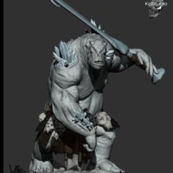 Imagem3.png Télécharger fichier OBJ Troll de glace - KcStudio • Design pour imprimante 3D, KcStudio