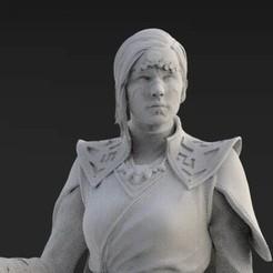Télécharger fichier STL Merrin - Ordre des Jedi déchus • Modèle pour imprimante 3D, KcStudio