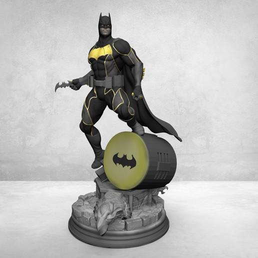 Télécharger fichier STL Batman • Modèle à imprimer en 3D, KcStudio