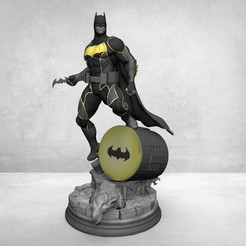 Download 3D printer templates Batman , KcStudio