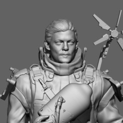 ZBrush 3.jpg Descargar archivo STL Sam Porter Bridges - Death Stranding • Plan imprimible en 3D, KcStudio