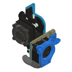 Descargar archivo STL ARTILLERY SIDEWINDER 90º VOLCANO v2 4020 FAN DUCT + CFD + .STP • Plan para la impresión en 3D, JLDesigns3D