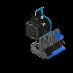 Download free 3D print files ARTILLERY SIDEWINDER 46º VOLCANO V1 4020 FAN DUCT + CFD + .STP, JLDesigns3D
