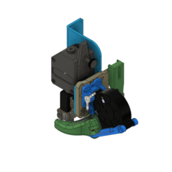 Télécharger fichier imprimante 3D 5015 ARTILLERY SIDEWINDER X1 DRAGON, MOSQUITO, (&BMG-M), & VOLCANO Combo Duct, JLDesigns3D