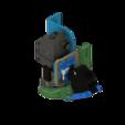 Télécharger fichier STL 5015 ARTILLERY SIDEWINDER X1 DRAGON, MOSQUITO, (&BMG-M), & VOLCANO Combo Duct • Plan pour imprimante 3D, JLDesigns3D