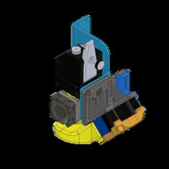Descargar archivo STL ARTILLERÍA SIDEWINDER V3 46º DRAGÓN O E3D V6 - 4020 CONDUCTO DE VENTILADOR + CFD + .STP • Modelo para la impresora 3D, JLDesigns3D