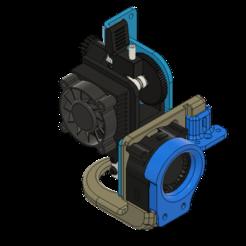 Download free STL files Artillery Sidewinder 90º Volcano V1 4020 Fan Duct + CFD + .stp, JLDesigns3D