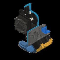 Download 3D printing models ARTILLERY SIDEWINDER VOLCANO V3 46º 4020 FAN DUCT + CFD + .STP, JLDesigns3D