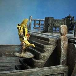1.jpg Télécharger fichier STL gratuit Escaliers jouables pour le MDN • Design imprimable en 3D, Cuckoo