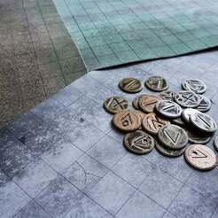Download free STL file v2 coins For dungeons and dragons & Tabletop Games, Cuckoo