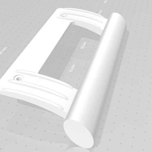 maneta1.jpg Télécharger fichier STL gratuit Poignée de réfrigérateur • Objet pour impression 3D, rafelcalamillor