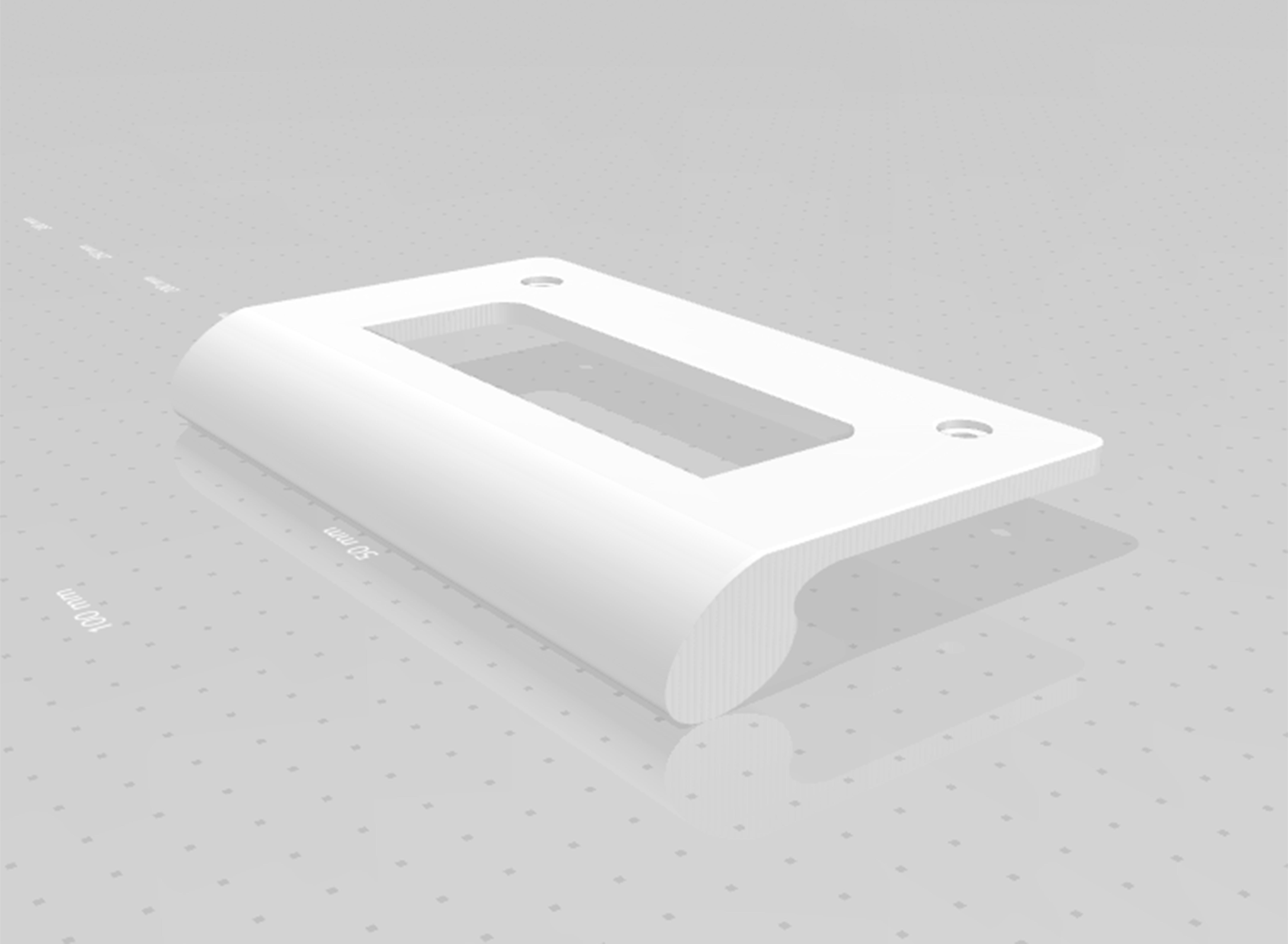 maneta2.jpg Télécharger fichier STL gratuit Poignée de réfrigérateur • Objet pour impression 3D, rafelcalamillor