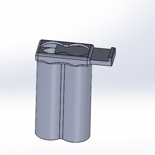 montaj.JPG Download STL file  battery protection container • 3D printing object, bymicknick