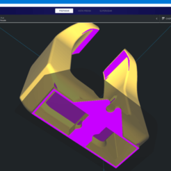duct.png Download free STL file BKinG MikeyMouse Dual 5020 Ender 5 • 3D print object, BERTOKING
