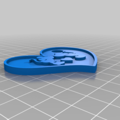 LLAVERO_MIKEYMINNIE.png Download free STL file KeyChain Mikey Minnie • 3D printable model, BERTOKING